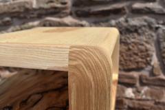 Detail of upper corner joint