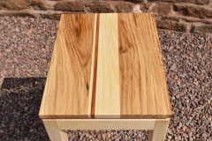 Oak, limewood and sapele table top