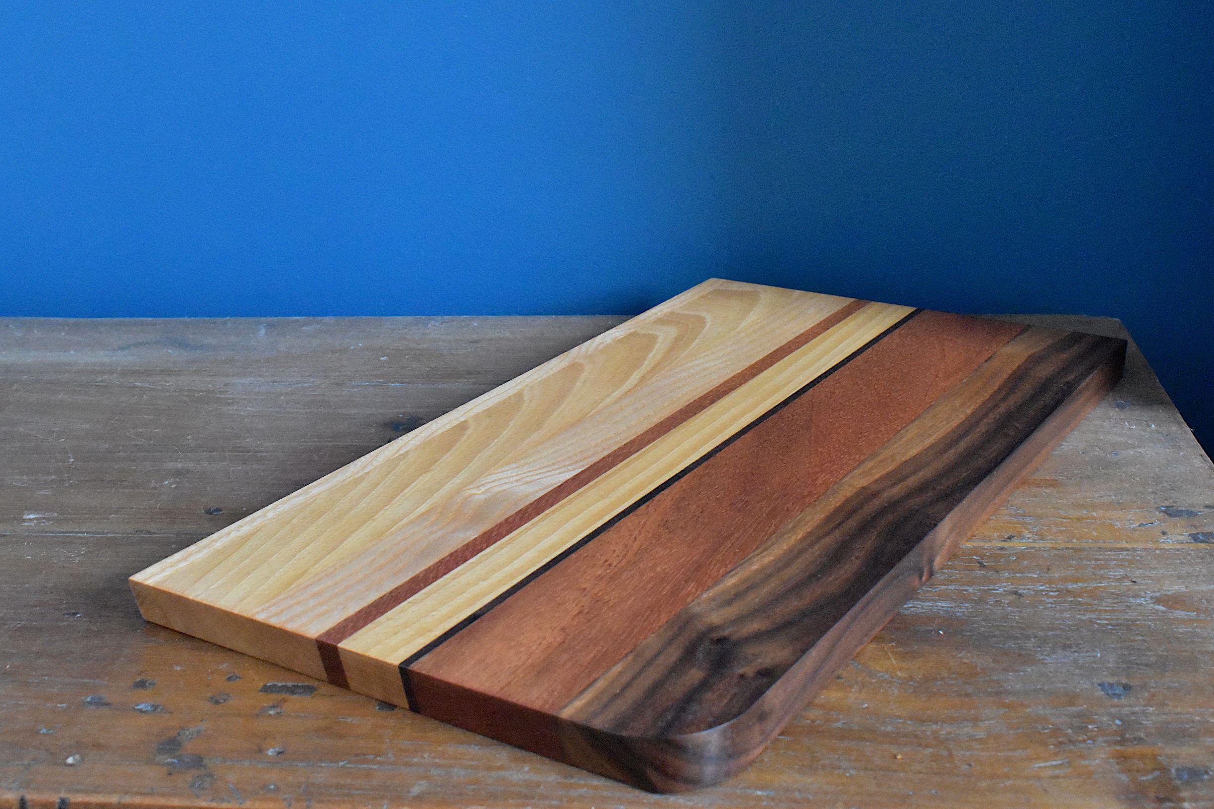 Hardwood bread/cheese board